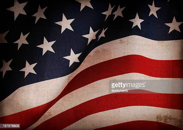 grunge american flag - american flag background stock pictures, royalty-free photos & images
