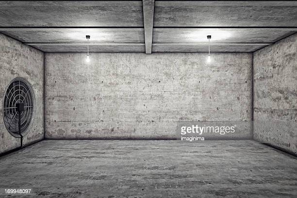 Grunge nackten Untergeschoss
