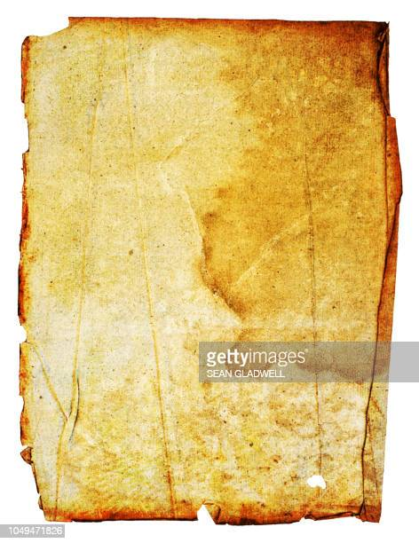 grunge blank poster - old parchment background burnt stock photos and pictures