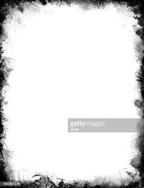 Grunge border or frame
