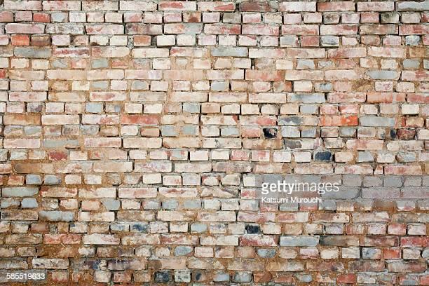 Grunge brick walls texture background