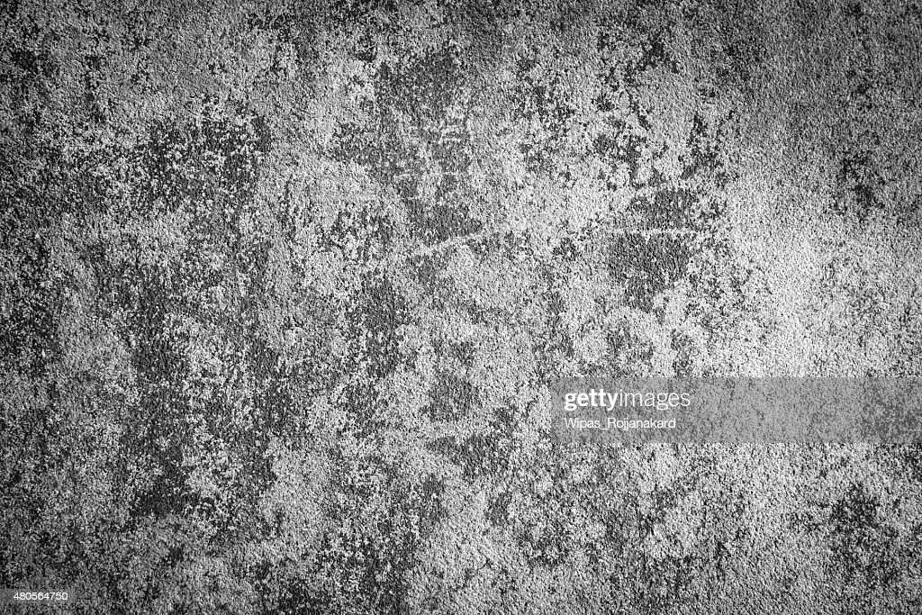 Grunge concrete texture black and white color : Stock Photo