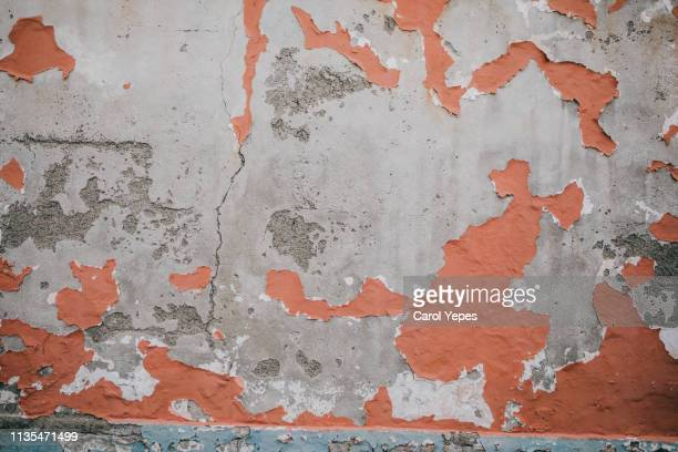 Grunge damaged wall and pavement background texture