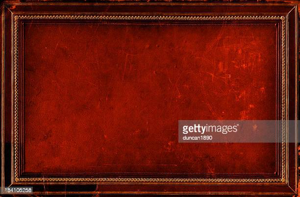 grunge frame background - old parchment background burnt stock photos and pictures