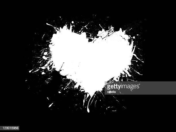 Grunge Herz
