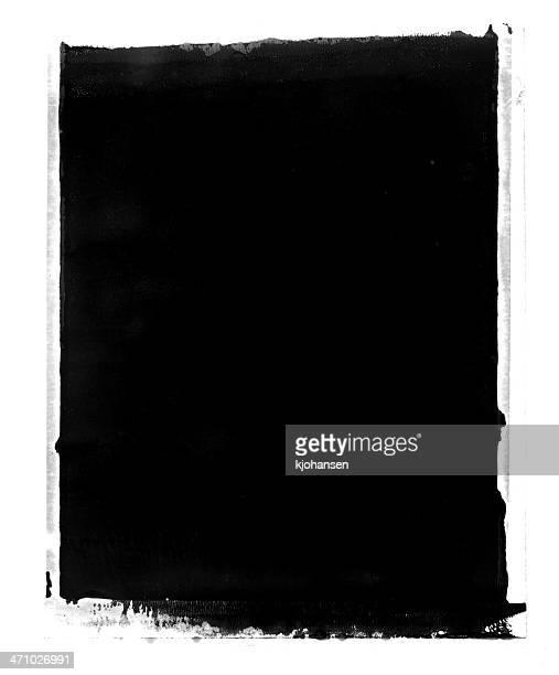 グランジ背景またはフレーム瞬時に転送 - 黒枠 ストックフォトと画像
