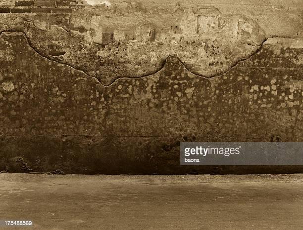 grunge Wand und Boden innen