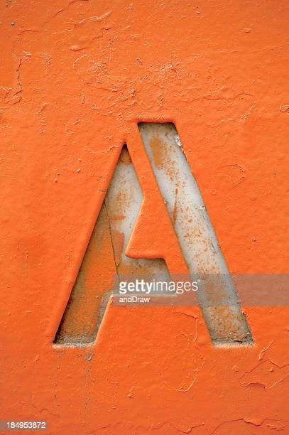 grunge letter a - letter a stock pictures, royalty-free photos & images