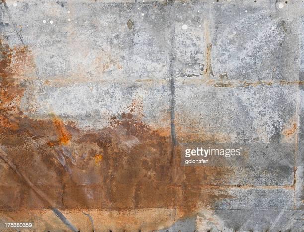 グランジ背景金属 - 亜鉛 ストックフォトと画像