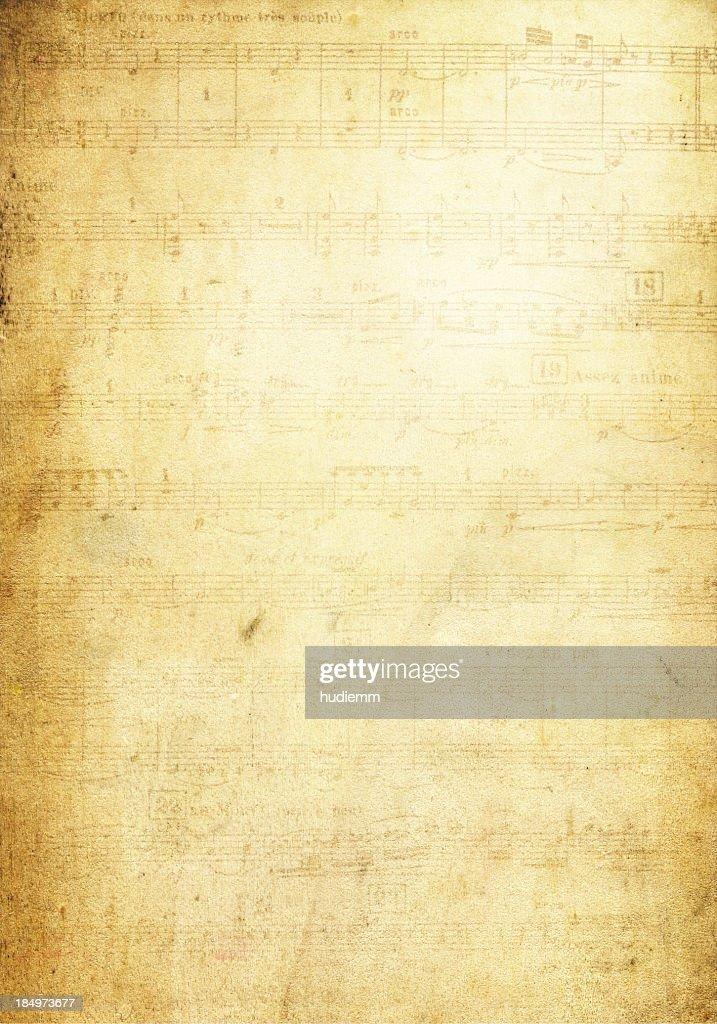 Grunge-Note Seite Hintergrund Textur : Stock-Foto