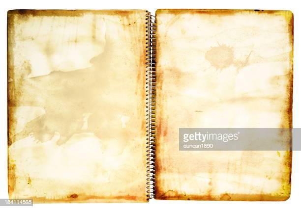 Grunge-Notizbuch
