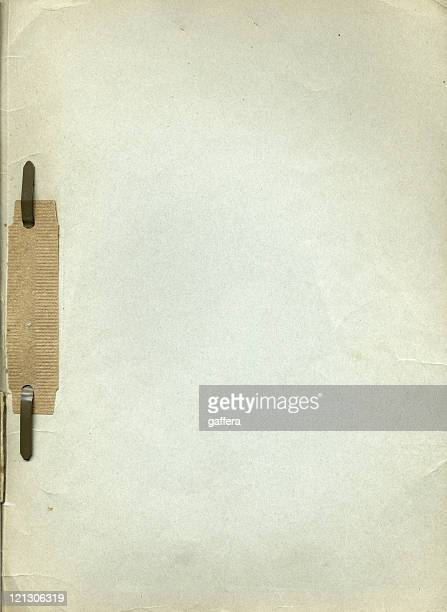 grunge paper - binder clip stock pictures, royalty-free photos & images