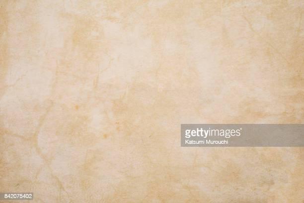 grunge paper texture background - クリーム色 ストックフォトと画像