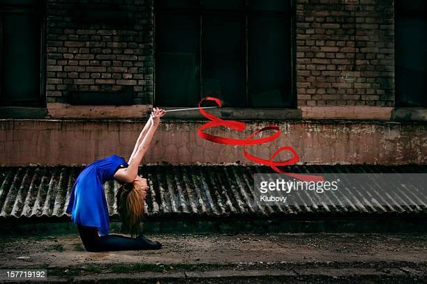 Grunge Rhythmic Gymnastics - Ribbon Dance