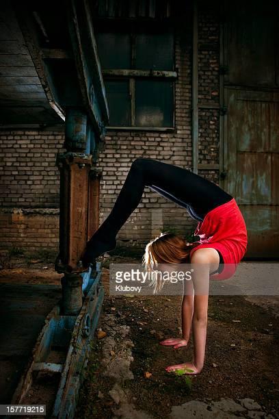 Grunge Rhythmic Gymnastics - Stretching