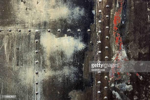 textura grunge com rebites#4 - rebite ferramenta de trabalho imagens e fotografias de stock