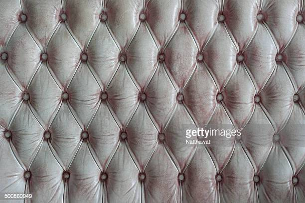 Grunge white upholstery background