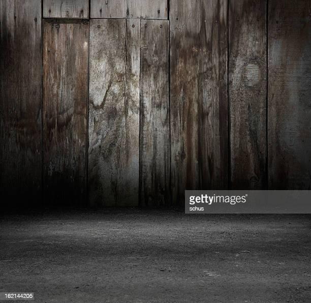 Grunge wooden wall