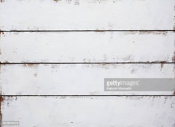 Grunge wooden white board texture background