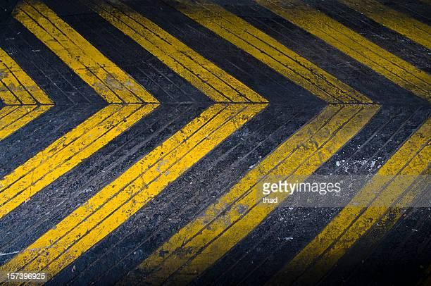Grungey Driveway Arrows
