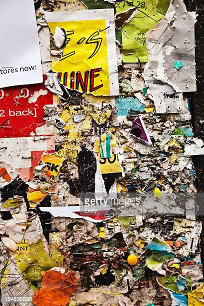 collage de grunge Panneau d'affichage.