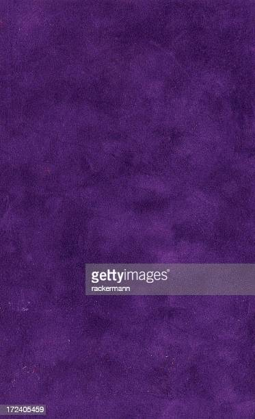 Grungy  dark violet velvet bookcover XL