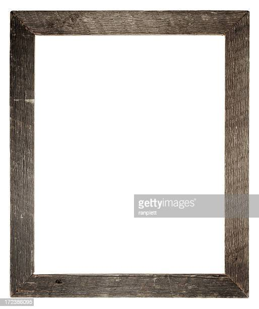 Grungy Empty Frame (Clipping Path)