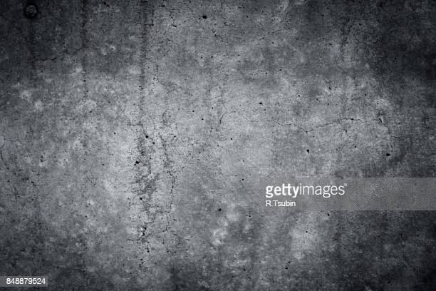 grungy gray concrete wall texture background - grunge bildtechnik stock-fotos und bilder