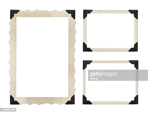 Grungy photo borders