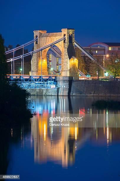 CONTENT] Grunwaldzki Bridge in Wroclaw Poland