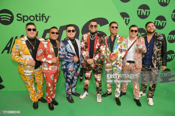 Grupo Firme attends the 2020 Spotify Awards at the Auditorio Nacional on March 05 2020 in Mexico City Mexico