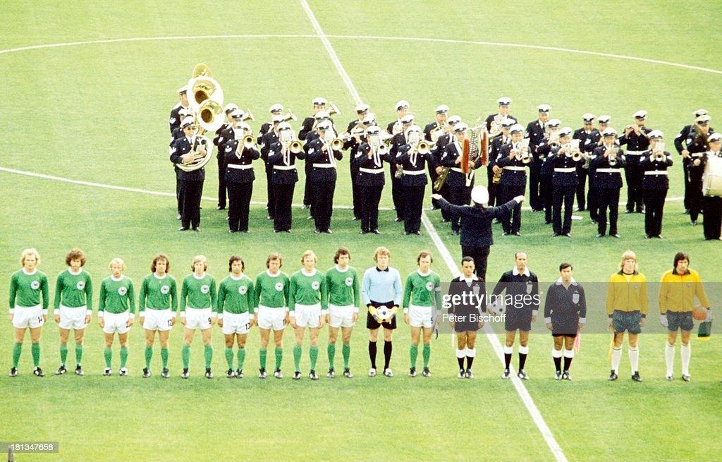 Gruppenspiel Fussball Weltmeisterschaft 1974 Brd Munchen