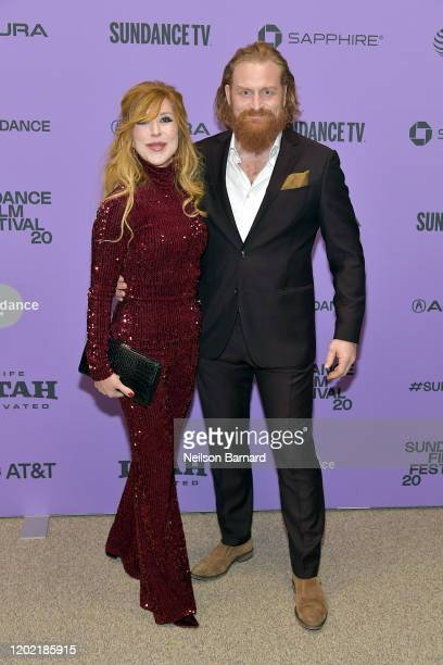 Gry Molvær Hivju and Kristofer Hivju attend the 2020 Sundance Film Festival Downhill Premiere at Eccles Center Theatre on January 26 2020 in Park...