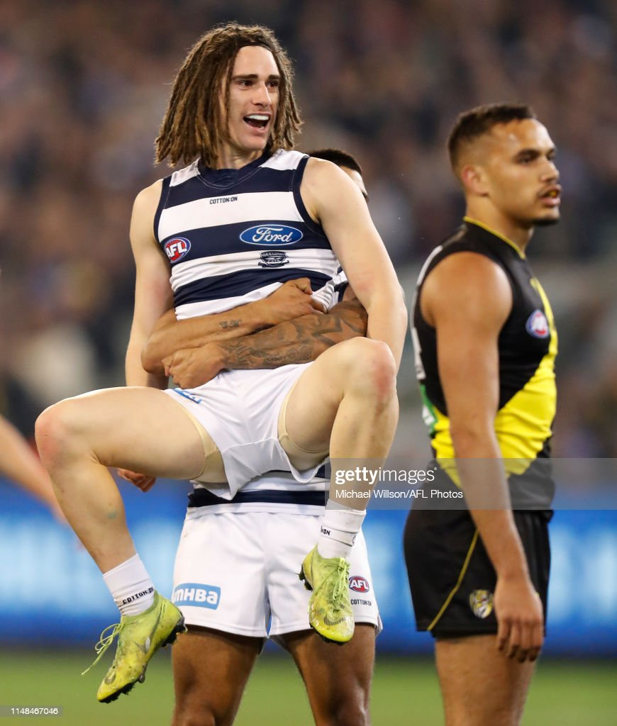 AFL Rd 12 - Richmond v Geelong : News Photo