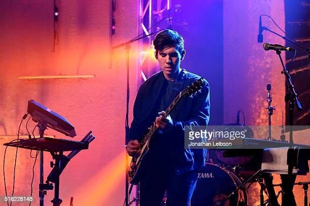 Gryffin performs at Music Is Universal presented by Marriott Rewards and Universal Music Group during SXSW at the JW Marriott Austin on March 17 2016...