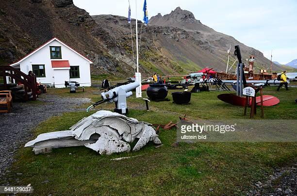 Grytviken Former whaling base