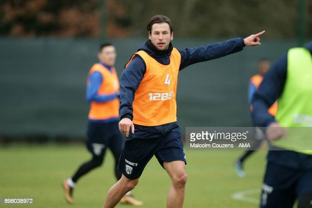 Grzegorz Krychowiak of West Bromwich Albion on December 19 2017 in West Bromwich England