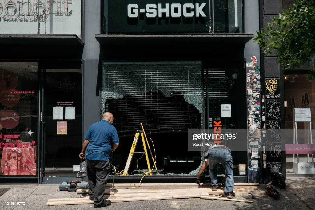 U.S. Cities Clean Up Damage As Riots Continue Across The Country : News Photo