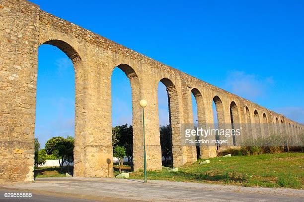Água de Prata Aqueduct Évora Alentejo Portugal