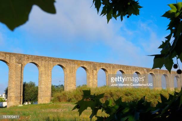 gua de Prata Aqueduct, vora, Alentejo, Portugal