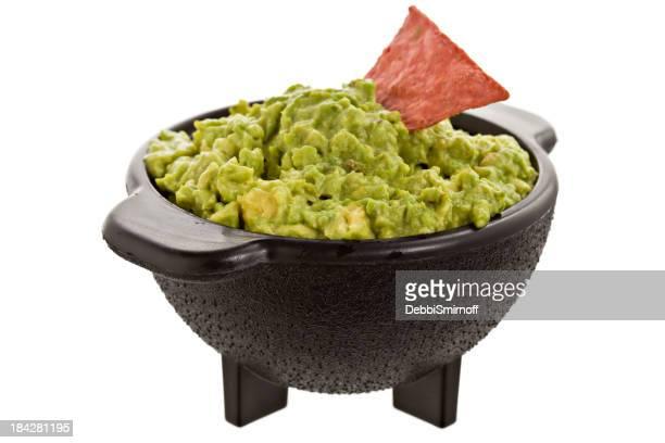Guacamole en Molcajete Bowl