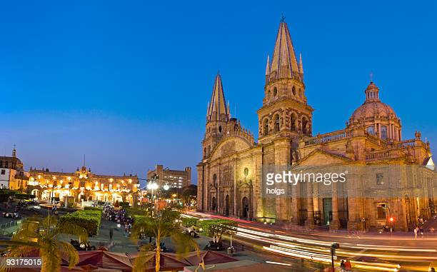 guadalajara cathedral mexico - guadalajara mexico stock pictures, royalty-free photos & images
