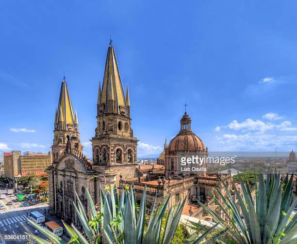 guadalajara cathedral - guadalajara mexico stock pictures, royalty-free photos & images