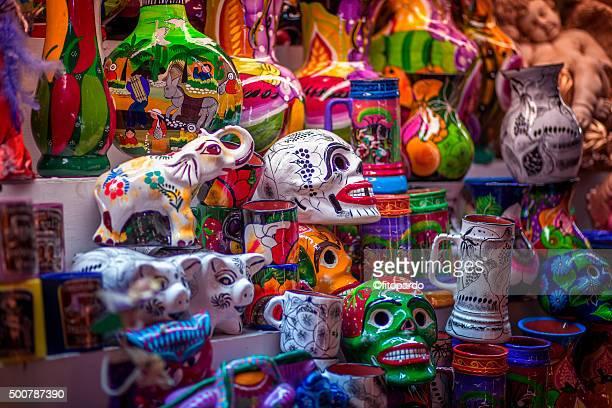 guadalajara handcrafts & folk art market - guadalajara mexico stock pictures, royalty-free photos & images