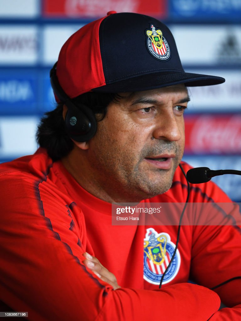 ARE: CD Guadalajara Training Session & Press Conference - FIFA Club World Cup UAE 2018