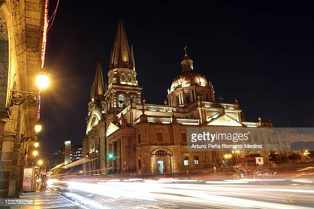 guadalajara - cathedral stock pictures, royalty-free photos & images