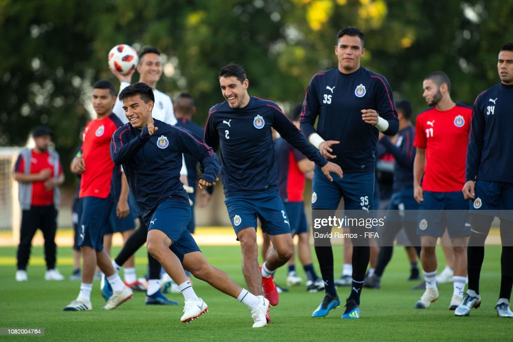 ARE: CD Guadalajara Training Session - FIFA Club World Cup UAE 2018