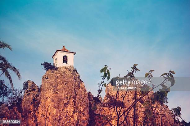 Guadalest - The Bell Tower of Guadalest, Alicante, Spain