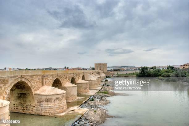 Guadalquivir River and Roman Bridge of Córdoba, Spain