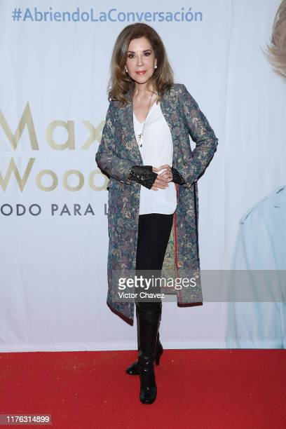 Guadalupe Pineda attends the Todo Para La Mujer 30th Anniversary Red Carpet at Live Aqua hotel on October 16 2019 in Mexico City Mexico